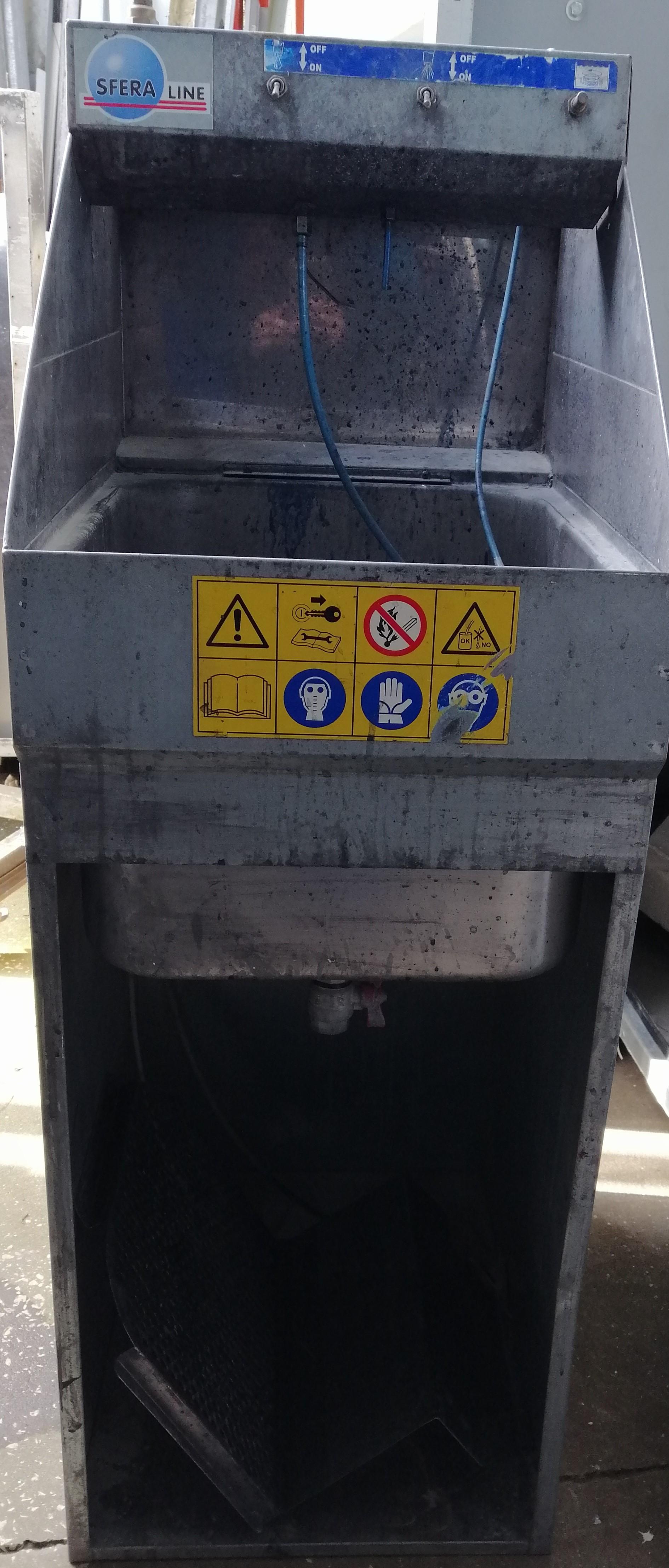 Máquina de Lavar Pistolas Manual